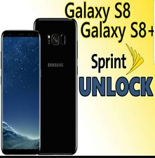 Factory Unlock Services for Sprint Samsung Galaxy s7/S8/S8+/Note 8