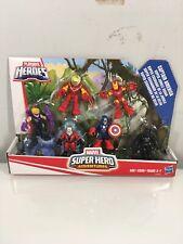 New Playskool Heroes Super Hero Adventures Super Jungle Squad 6 Figure Set Pack