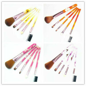 5tlg. Make up Pinsel Brush Schminkpinsel Kosmetik Rouge Lidschatten Applikator