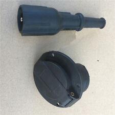 Universal Golf Cart DC Receptacle & Plug 36V/48V, 3 Pins Charger Outlet Socket