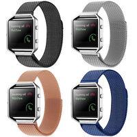 Magnetic Bracelet Milanese Stainless Steel Wrist Strap For Fitbit Blaze Watch