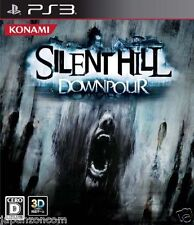Used PS3 Silent Hill: Downpour  SONY PLAYSTATION 3 JAPAN JAPANESE IMPORT