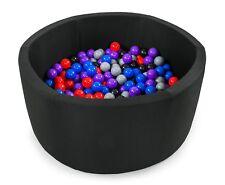 Tweepsy Baby Round Foam Ball Pit with 250 Plastic Balls BKODP5