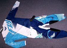 Fly Racing Kinetic Vector Motocross Combo Blau MX Enduro Hose Jersey Yamaha YZ-F