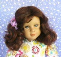 Monique DOTTIE Auburn Full Cap Doll Wig Size 12-13  Loose Curl Mid-Length