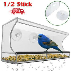 Fenster Vogelfutterspender Vogelfutterstation Vogel Futterstelle Vogelfutterhaus
