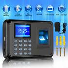 Biometric Fingerprint Checking-in Attendance Machine Office Employee Time Clock