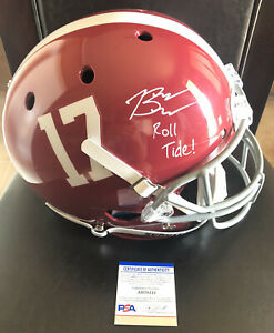 Bryce Young Signed Autographed Alabama Full Size Helmet ROLL TIDE W/COA