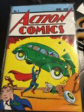 Action Comics #1 LOOT CRATE EXCLUSIVE REPRINT 1938 SUPERMAN W/ COA SEALED BMSL