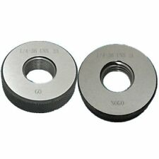 """1/4""""-36 UNS Thread Ring Gage 2A GO NOGO 100% calibrated ship by DHL"""