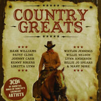 Various Artists : Country Greats CD 3 discs (2013) ***NEW*** Fast and FREE P & P
