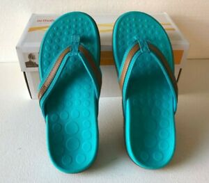 NEW Orthaheel Dr Weil Vionic Women's TIDE Orthotic Comfort Sandal Jade Size 6