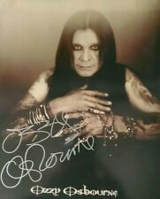 """OZZY OSBOURNE SIGNED AUTOGRAPHED 8x10 PHOTO  """"PRINCE OF DARKNESS """" AUTHENTIC COA"""