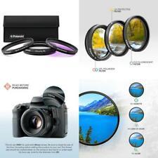 Polaroid Optics 3 Piece Filter Kit Set [Uv,Cpl,Fld] , 82 Mm