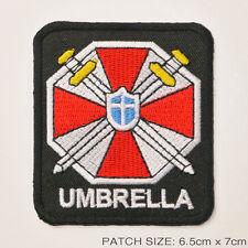 "RESIDENT EVIL ""Umbrella Corporation"" Cross Swords Special Forces Patch"