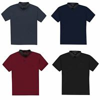 Pierre Cardin Pattern Collar Polo Shirt XL Mens Top Tee Casual T-Shirt
