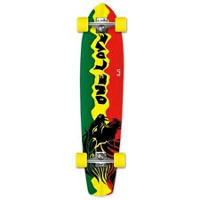 Yocaher Complete Rasta 2 Slimkick Longboard