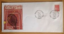 2002 Roland Garros Tennis, Paris, France, Stamp & Commemorative Cover
