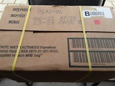 US MRE kompletter  Karton, Insp.Test 06/2022 B, EPA,  Verpflegung