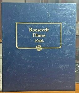 WHITMAN CLASSIC COIN ALBUM ROOSEVELT DIMES 1946-1997 ~ NEW CLOSE OUT ~ #9119