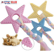 Pet Dog Safety Chew Toy Puppy Doggy Cat Bite-Resistant Rubber Training Toys UK