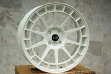 17X8 +40 ROTA RECCE 4X108 WHITE WHEELS Fits FORD FIESTA SPORT ST TITANIUMT 2011