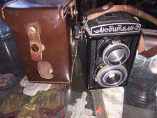 Lubitel 2 Bakelite Russia USSR Soviet Medium Format TLR Camera