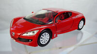 Motor Max Peugeot RC 1:24 Red Diecast Original Toy Collectible Rare Car Concept