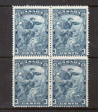 Canada #208iii Mint Hairline From Hand Variety Block