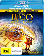 Hugo (Limited 3D Edition) (3D Blu-ray/Blu-ray)  - BLU-RAY - NEW Region B