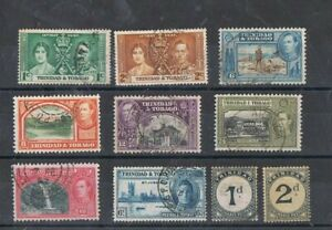 TRINIDAD - Lot of old stamps