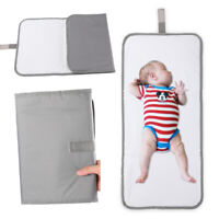 Portable Changing Pad for Diaper Bag Baby Diaper Changing Mat Waterproof 64*30cm