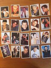 Lotto Figurine Stickers Take That Vintage Anni 90 RARE Musica Robbie Williams
