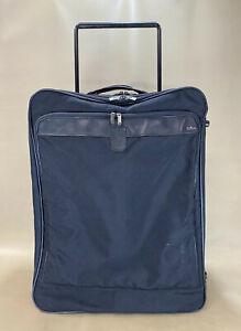 """Hartmann Classic Black Ballistic Nylon Luggage 27"""" Upright Wheeled Suitcase"""