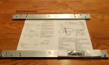 1968 AMC  'Javelin' Window Kit secure L & R door glass, PERMANENTLY!