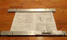 1970 AMX & Javelin' Window Track Kit set,secures both door windows permanently