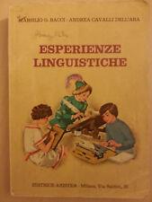 Marsiglio G. Bacci - Andrea Cavalli Dell'Ara - Esperienze Linguistiche - Aristea