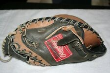 "Rawlings RIGHT Hand Throw Catchers Mitt RCM45BT RHT Youth 10.5"" Across Broken In"