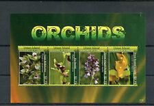 Isla Union Granadinas St Vincent 2011 Mnh orquídeas 4v m/s Flores Flora lycaste