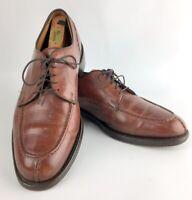 Allen Edmonds  Bradley 10.5 D Mans  Medium Brown Chili Shoes Leather lace up