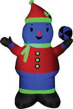 Morris Costumes Airblown Decorations & Props Neon Christmas Inflatables Snowman
