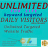 Unlimited Website Traffic For Life - Live Stats + Organic