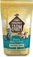 More details for supreme tiny friends bathing sand 1kg bag chinchillas hamsters gerbils & degus