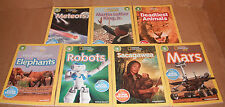 Lot of 7 National Geographic Readers Books Level 3 Paperback NEW