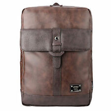 Men's Faux Leather Backpack