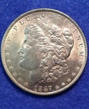 1887 Morgan Silver Dollar Choice AU