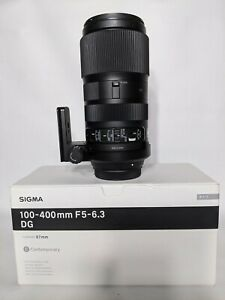 Sigma 100-400mm Canon EF + Lens Mount iShoot SM140 - DG OS HSM Contemporary Lens