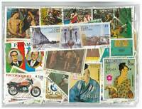 Latin America - 300 Different Stamps Mixed in Bag Used