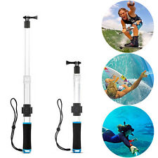 "14""-24"" Transparent Extension Floating Pole Selfie Monopod For GoPro Hero 5 4 3+"