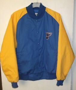 St.Louis Blues Vintage NHL Legends Jacket Bomber size L